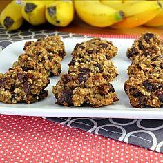 Healthy Banana Cookies HealthyAperture.com