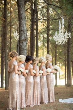 Stunning bridesmaid dresses; photo: Archetype Studios