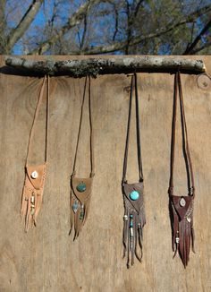 Spirit Medicine  Pouch Necklace // Custom by RustedAntlerDesigns, $38.00