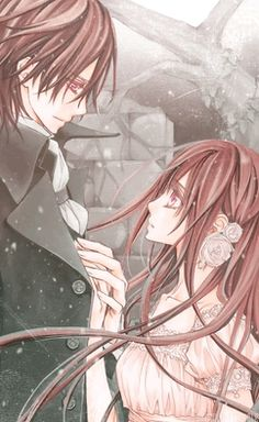 lovers will stay together forever no matter where they go -Vampire Kight