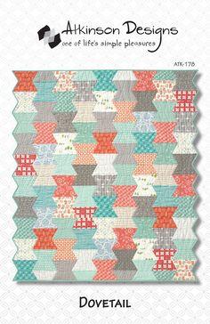 Dovetail Multi Size Quilt Pattern Atkinson Designs