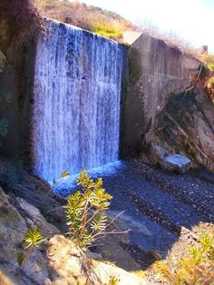Waterfall in Kos, Greece
