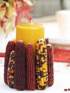 Corn Candleholder