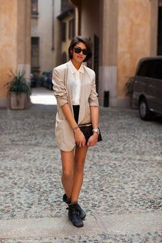 36 Ideas Para Usar Tu Blazer Oversized – Cut & Paste – Blog de Moda
