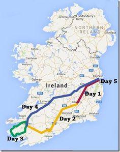 Ireland Trip: A Full Guide (Dublin, Newbridge, Kilkenny, Cashel, Cork City, Blarney, Killarney, The Ring of Kerry, & Adare)