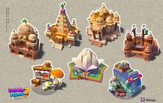 Bubble Island2 on Behance Bubble Island, Map Games, 2d Game Art, Isometric Art, Game Props, 3d Assets, Sky Art, Art Reference Poses, Pixel Art