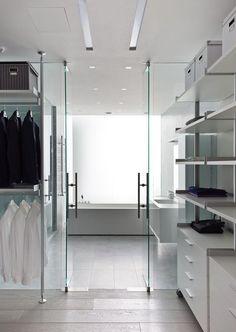 Glazen binnendeur - gehard glas