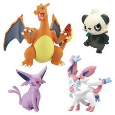 "Pokemon XY 4 Figure Gift Pack - Charizard, Sylveon, Espeon, and Pancham - TOMY - Toys ""R"" Us"