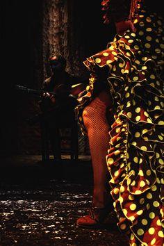 Flamenco in Seville, Spain