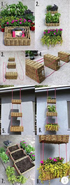 20 ideas para jardines verticales y colgantes! - Taringa!
