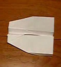 Aviones de papel. Papiroflexia