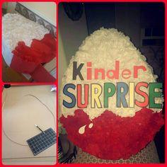 Diy Kinder Surprise Egg Pinata