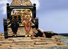 Hercules e Perseu  Olhe q Hercules to tinha 1 Mulher, Acho Q estou Aq  Para Mudar aa Historia, Bjs , Maria,Bianca,julia,Vanessa,Vitoria,Mariana,Juliana,ingrid,Adrieli,  k e o resto perdi a contaa.