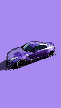 Jdm Wallpaper, Sports Car Wallpaper, Auto Illustration, Cool Car Pictures, Street Racing Cars, Drifting Cars, Tuner Cars, Japan Cars, Car Drawings