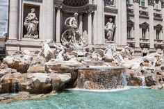 City guide : Rome - Just Mona Places Around The World, Around The Worlds, Trevi Fountain Rome, Nostalgia, Rome Italy, Italy Travel, Places To Visit, City, Paris France