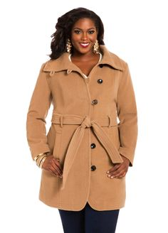 156a2d6a064 Loop Button Coat - Ashley Stewart Pretty Girl Rock