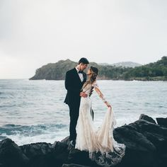 Ashley + Tim stylin' in St. Lucia 💃 Catch their majestic Lord of the Rings inspired nuptials on the blog today // 📷 @amberphiniseephoto / event planning by Karla Shand / venue: #regencylatoc / floral design by Ashley Corbitt / videography, hair, and makeup by @liveslowproductions / dress by @missstellayork