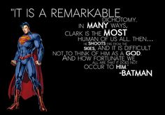 Bruce Wayne on Kal El