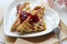 Grilled Cheese French Toast with Bacon