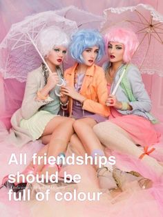 Harajuku, Friendship, Tulle, Pastels, Skirts, Wicked, Color, Fashion, Colour
