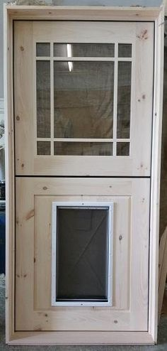 Adirondack Natural Door W/doggie Door: Adknaturals.com