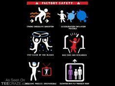 Factory Safety T-Shirt | TeeCraze.Com