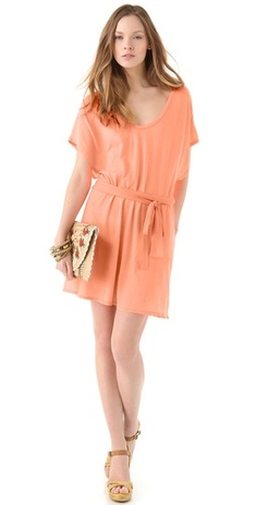 Carefree spring/summer dress in neon heat by sundry