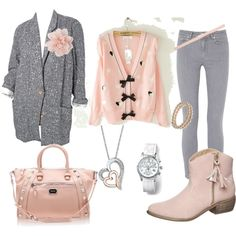 """Pink"" by corinne34 on Polyvore"