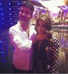 Posted by SimonCowellOnline on Instagram  Simon Cowell and Paula Abdul reunite since they were judges on American Idol together! Love this picture! Surf Room, Simon Cowell, Judges, American Idol, Surfing, Room Decor, Concert, Couples, Pictures