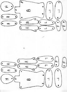 Today's Drawing Class 101: Drawing body parts | Keith Haring figure templates