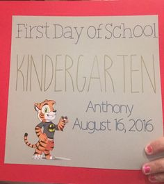 First day of school made in cricut design space