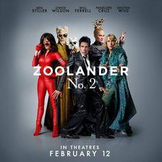 Zoolander motion poster con i protagonisti del film Movie Club, 2 Movie, Latest Movies, New Movies, Own Wilson, Hip Hop Mixtapes, Motion Poster, Zoolander, Ben Stiller
