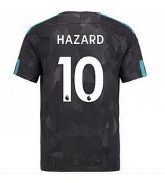 Billiga Chelsea Eden Hazard 10 Tredje Tröja 17-18 Kortärmad Eden Hazard, Stamford, Chelsea Fc, Premier League, Sports, Tops, Hs Sports, Sport, Chelsea F.c.