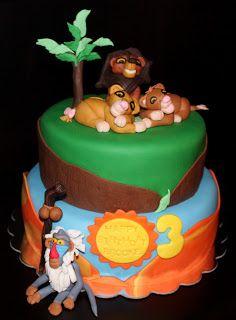 lion king cake!