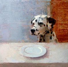 Untitled by Alejandra Caballero on Curiator, the world's biggest collaborative art collection. All Breeds Of Dogs, Custom Dog Portraits, Digital Museum, Collaborative Art, Artist Painting, Dog Art, Medium Art, Female Art, Dog Love