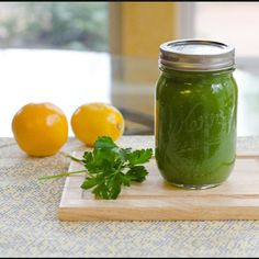 Simple delicious green juice