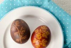 Ostereier natürlich färben #eier faerben #easter #natuerlich faerben