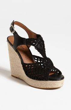 Ordering these today:) Lucky Brand 'Rilo' Wedge Sandal available at #Nordstrom