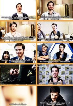 HE KNOWS DOCTOR WHO!!!! I love colin! <3 XD