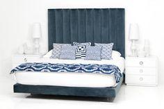 Shoreclub Bed in Mystere Eclipse Velvet