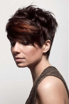 Diva short brown hairstyles - Cool