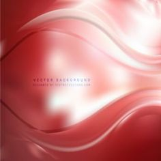 Red Wave Design Background #freevectors