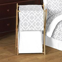 I pinned this Jayden Laundry Hamper in Diamond from the Guest Room Refresh event at Joss and Main!