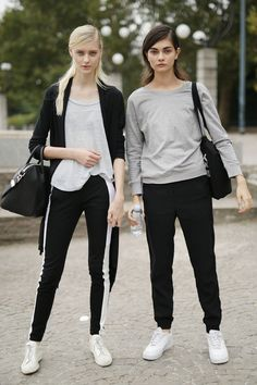 Milan Fashion Week: Double the sporty trouble.