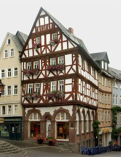 beautiful house in Wetzlar, Germany I know where this is