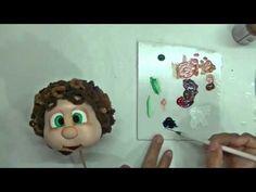 Tutorial cómo pintar caras de fofuchas - YouTube