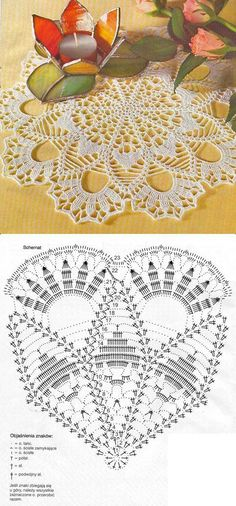 Ale świetne pomysły ♥ diy, na Stylowi. pl 1409918 home-sweet-home-home-home-sweet strona 2 This Pin was discovered by Bea One of the most beautiful crochet works I have ever seen. Pretty doily not standard looking. Free Crochet Doily Patterns, Crochet Doily Diagram, Crochet Circles, Crochet Chart, Crochet Motif, Crochet Designs, Filet Crochet, Thread Crochet, Knit Or Crochet