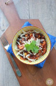 Black bean and Sweet Potato Bake in the Crock Pot Recipe