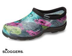 Sloggers Watercolors Wonder Women's Nursing Clog Style # SL5100WC  #uniformadvantage #uascrubs #shoes #nursingshoes