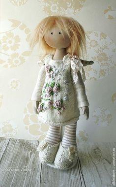 Купить Ангел Мила. - кукла, текстильная кукла, кукла ручной работы, кукла ангел